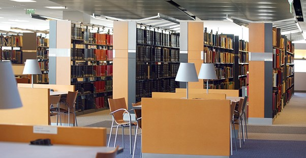 library at community college