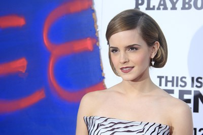 Emma Watson walks the red carpet