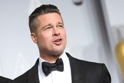 Brad Pitt looks super fine at a black tie event