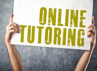 Online tutoring sign