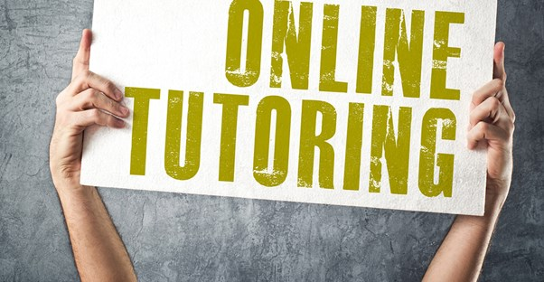 Online tutoring sign