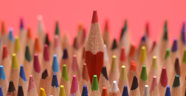 colored pencils for a special education activity found in an online resource