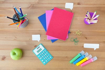 Classroom essentials and school supplies