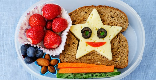 Fun school lunch ideas for kids
